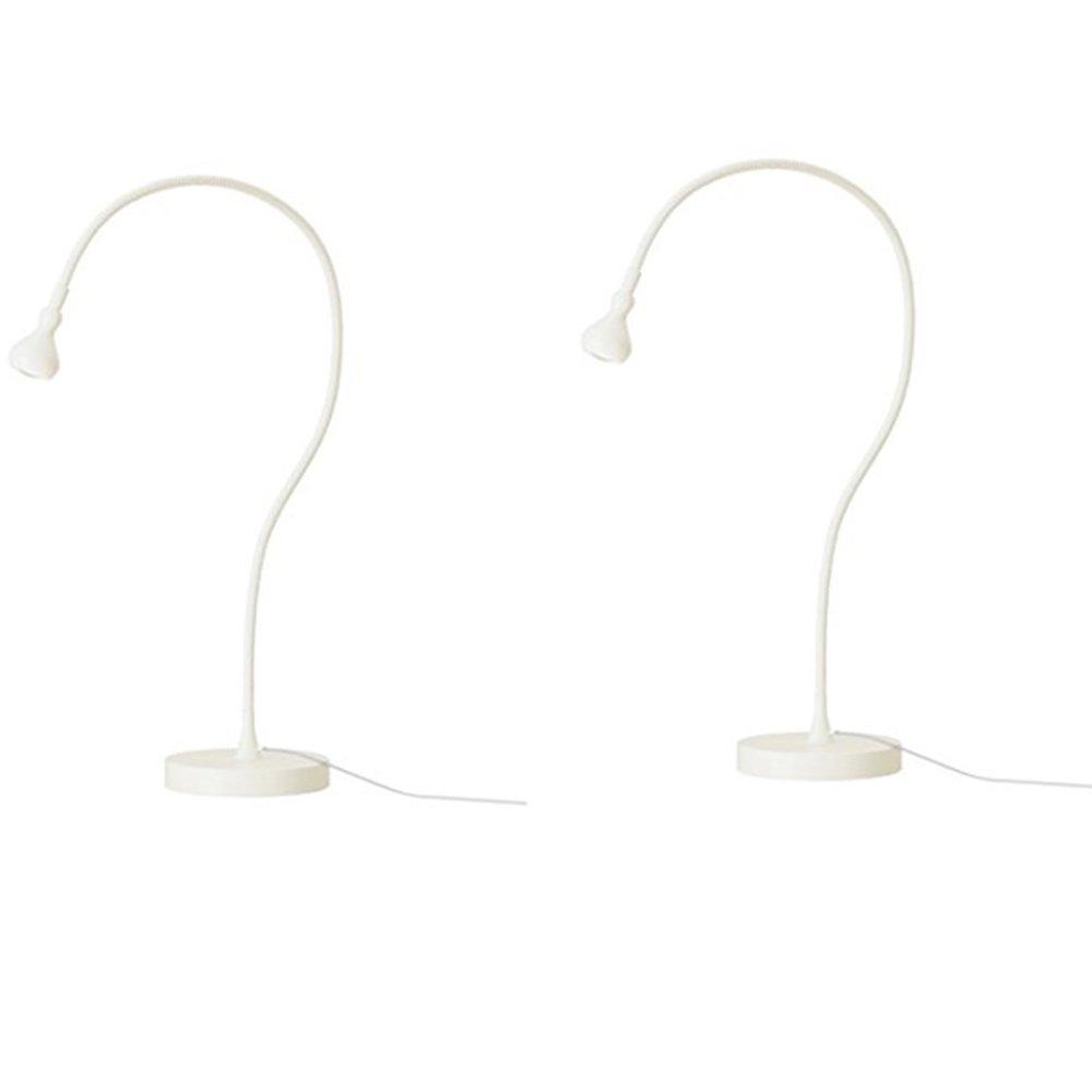 Ikea Lamp Work Led Jansjo (2 Pack) 24 Flexible (White) by IKEA