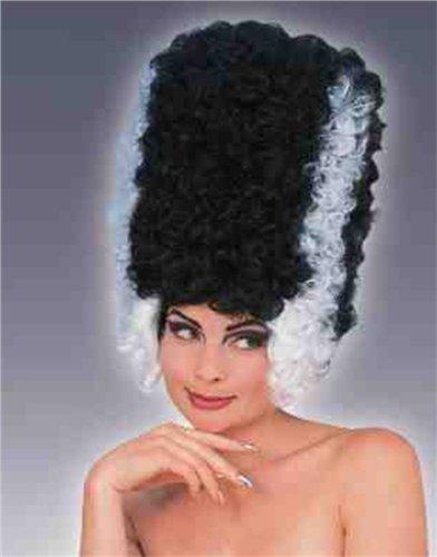 Frankenstein Fancy Dress (Monster Bride Wig Costume Accessory)