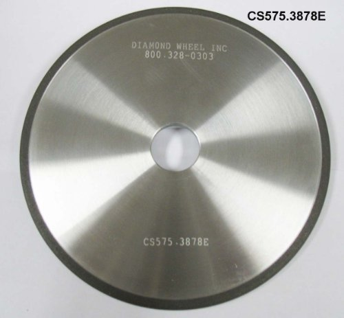 "Super Abrasive CBN 5-3/4"" Chainsaw Wheels for 3/8 and .404 Steel Pitch Chains Sharpen Chainsaw Chain"