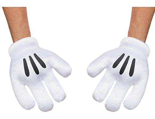 Disguise Costumes Mickey Mouse Gloves, Adult]()