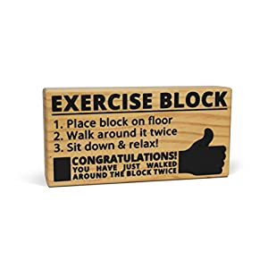 exercise block funny prank