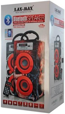 Amazon.com: Lax-Max Portable Bluetooth Speaker: Home Audio & Theater