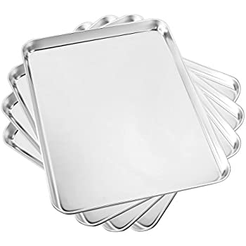 Amazon Com Cookie Baking Sheet Stainless Steel 14 5 Quot X