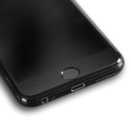 AppSkins Rückseite iPhone 6s Full Cover - Brilliant Diamantschwarz/ jet black