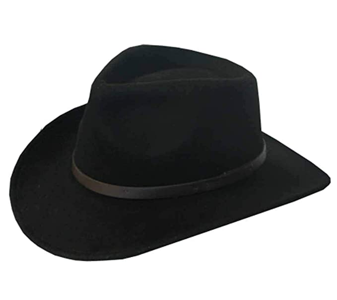 5919c5b87 Bentley Outback Crushable Outback Wool Felt Hat Fedora Fashion Men and Women
