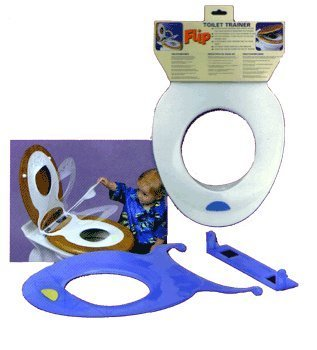 Strata Flip Toilet Seat Reducer, Colors May Vary (Discontinued by  Manufacturer)