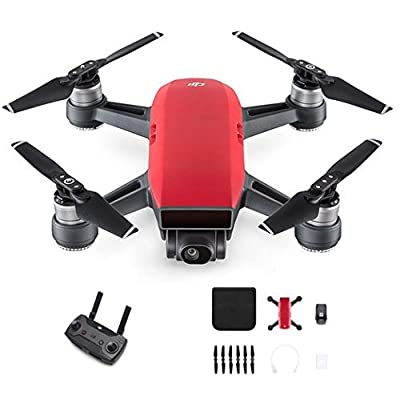DJI Spark with Remote Control Combo (Red): Electronics