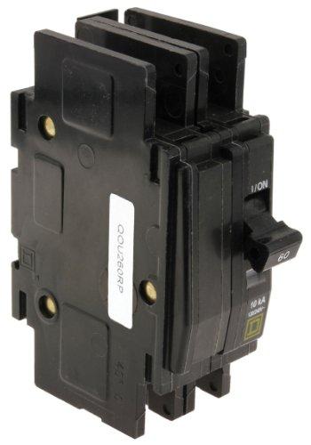 60a 2 Pole Breaker (Rheem/Protech 42-23201-01 - Circuit Breaker - 60A (2-Pole) - Rheem/Ruu by Protech)
