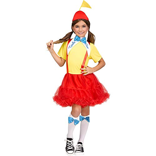 Tweedle Dee And Dum Girls Costume Size L]()