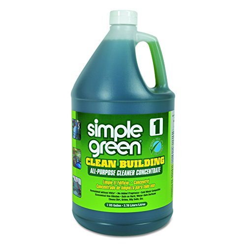 Simple Green 11001 Clean Building All-Purpose Cleaner Concentrate, 1gal Bottle - 1 Gallon Concentrate