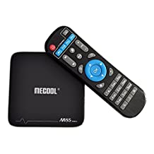MECOOL M8S PRO+ TV BOX Android 7.1.1 64 bit Amlogic S905X 4Kx2K 60fps 3D HDR10 H.265 10bit 2G/16G 2.4GHz WIFI OTA Smart Media Player