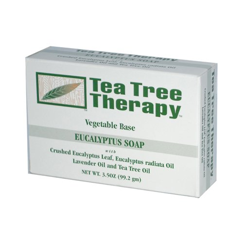 Bulk Saver Pack 36x3.5 OZ : Tea Tree Therapy Eucalyptus Soap Vegetable Base