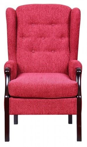 Rome Orthopedic High Back Chair Queen Anne Style Fireside Chair - Orthopaedic chairs uk