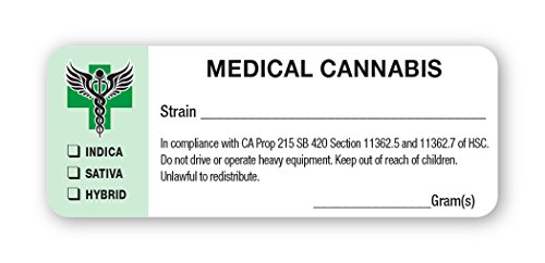 Amazon california medical cannabis strain labels state amazon california medical cannabis strain labels state compliant medical marijuana pot labels 1000 labels per roll office products colourmoves