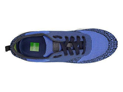BOSS GREEN Velocity_Runn_sykn 10193624 01, Scarpe da Ginnastica Basse Uomo 430 Bright Blue
