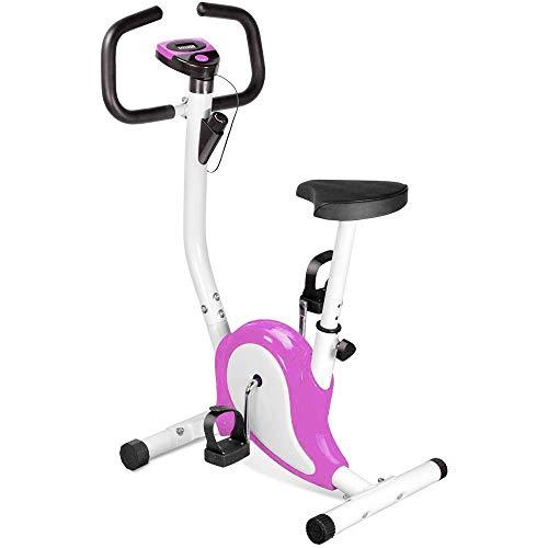 OUTAD Training Exercise Bike LCD Display Comfortable Sponge Adjustable Height Saddle Indoor trainer Bike UK BU