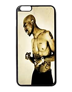 "2Pac Custom Image Case iphone 6 -5.5 inches case , Diy Durable Hard Case Cover for iPhone 6 Plus (5.5"") , High Quality Plastic Case By Argelis-Sky, Black Case New hjbrhga1544"