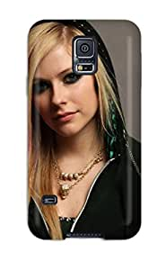For Galaxy S5 Premium Tpu YY-ONE Celebrity Avril Lavigne Protective Case by Maris's Diary