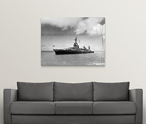 Gallery-Wrapped Canvas entitled American Heavy Cruiser by Great BIG Canvas 48''x36''