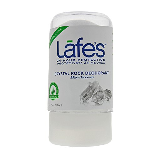 (Lafe's Crystal Rock Deodorant, 4.25 Ounce (Packaging May Vary))