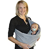 OUR BEST BABY SLING WRAP CARRIER for Babies, Infants...