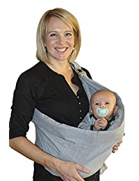 OUR BEST BABY SLING WRAP CARRIER for Newborns, Infants, & Toddlers, Ergonomically-Designed Child Carriers, Makes Parent-Child Bonding Time Easier & Extra-Comfortable, The Perfect Baby Shower Gift BOBEBE Online Baby Store From New York to Miami and Los Angeles
