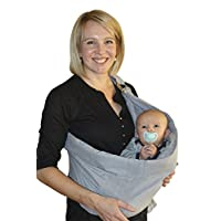 OUR BEST BABY SLING WRAP CARRIER for Newborns, Infants, & Toddlers, Ergonomic...