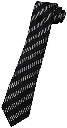 Donald Trump Neck Tie Black and Silver Striped by Donald Trump (Image #2)