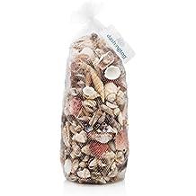 "Dashington Assorted Beach Sea Shells, Large Sizes 1""-2"", 5lb Bag (400-500 Shells)"