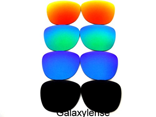 Galaxy Replacement Lenses For Ray-Ban RB2140 Original Wayfarer Black&Blue&Green&Red 54 mm Polarized ()