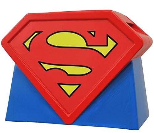 Diamond Select Toys Superman: The Animated Series: Ceramic Logo Cookie Jar (Cookie Jar Spiderman)