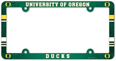 Oregon Ducks Official NCAA 12x6 Plastic License Plate Frame by Wincraft