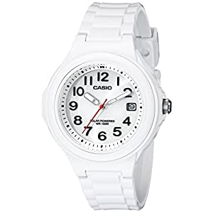 41QbK425RqL. SS300  - Casio Women's LX-S700H-7BVCF Solar White Watch