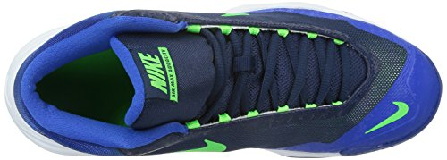 Nike Mens Air Max Audacity Basketskor 8,5 M Oss Mitten Marin / Grön Strk-gym Royal Vita