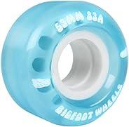 Bigfoot Skateboard Wheels 55mm 83A Soft Cruiser Filmer Wheels Blue (Set of 4)