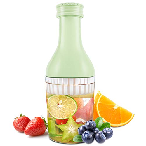 Evron Fruit Infusion Flavor Bottle 1000 ml Ideal Use for Indoor and Outdoor (Green, 600ml)