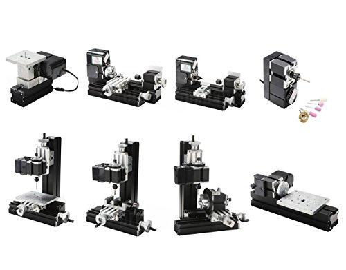 SUNWIN Mini Multipurpose Metal Material Machine 8 In 1 DI...