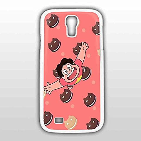Steven Universe with Cookie Cats for Iphone and Samsung Galaxy Case (Samsung Galaxy S4 White) (Galaxy S4 Phone Case Universe)