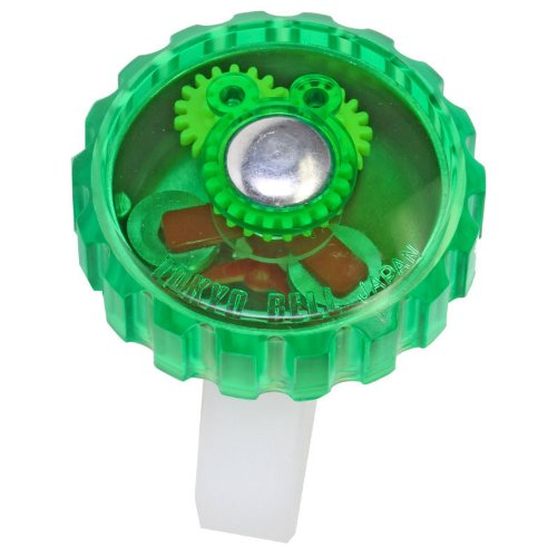 Mirrycle Incredibell Jellibell Bicycle Bell (Green)