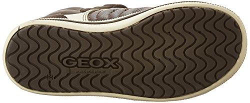 Geox Jr Elvis a, Zapatillas Altas para Niños Braun (BROWNC0013)