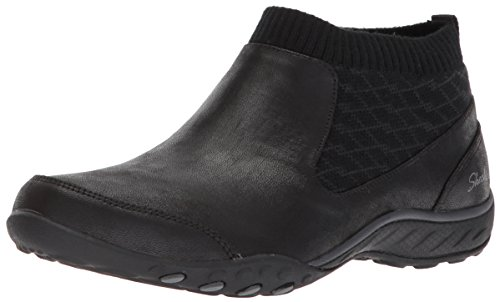Skechers Women's Breathe Easy Declare Sneaker Black