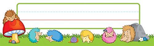 Carson Dellosa Happy Hedgehogs Nameplates (122032) (Names Hedgehog Adorable)