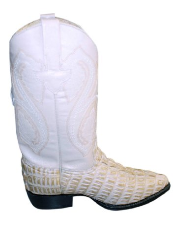 Alligatore Coccodrillo Design In Vera Pelle Cowboy Artigianali Western Stivali Orix