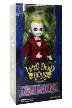 Mezco Toyz Living Dead Dolls Beetlejuice In Formal Red Tuxedo