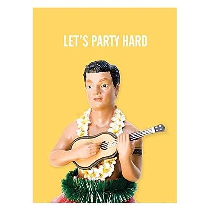 Papel Ninja tarjeta gama: Let s Party Hard- fiesta de ...