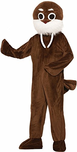Forum Men's Mascot Walrus Costume, Multi/Color, One Size