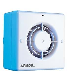Manrose CF100T - Extractor para baño (incluye ventilador con temporizador, para conductos de 100mm)