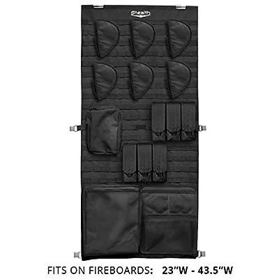 STEALTH MOLLE Gun Safe Door Panel Organizer Medium - Fully Customizable & Adjustable Storage Solution