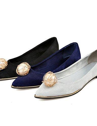 forro eu36 libre zapatos al Toe las de us6 Flats uk4 de comodidad aire cn36 Deportivo novedad punta soporte talón mujeres polar PDX Toe cerrado LoafersWedding blue dIgHTwHq