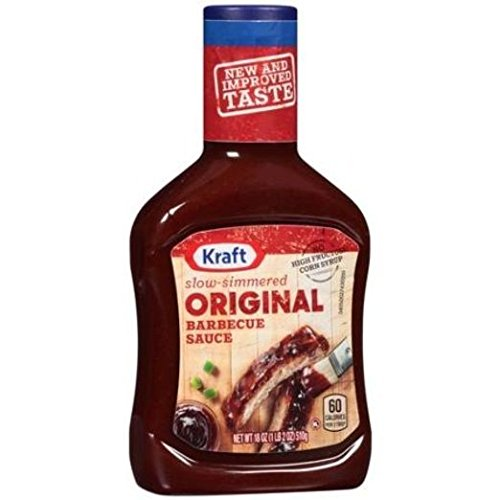 Kraft, BBQ Sauces, 18oz Bottle (Pack of 3) (Choose Flavor Below) (Original)